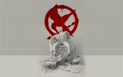 Hunger Games Mockingjay Wallpapers Desktop Poster Hungergames