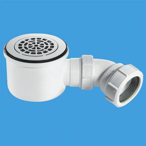 McAlpine ST90CPB P HP 90mm Shower Trap with 50mm Water Seal