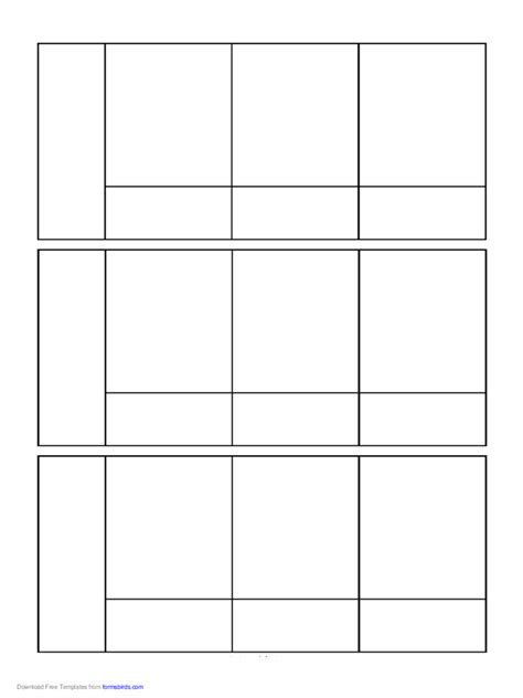 comics pages   templates   word excel