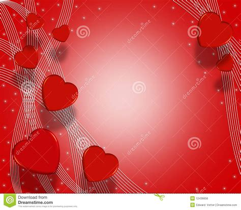 valentines day background hearts  royalty  stock