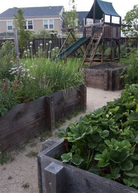 raised bed garden designs  beautiful backyard