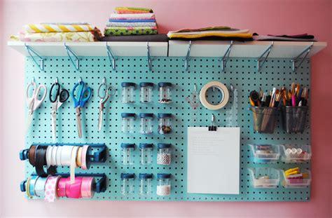 Craft Room Pegboard  Invincible Inc