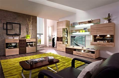 sonoma eiche wohnwand jasmina wohnwand i sonoma eiche hell braun wohnzimmer wohnwand modern wohnzimmer und wohnen