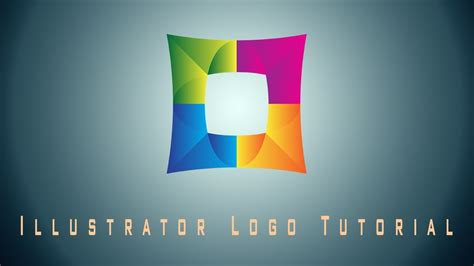 gradient logo illustrator tutorial youtube