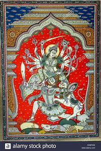 Kunst An Der Wand : hand traditionelle alte kunst der hinduistische gott und g ttin auf ein dorf an der wand ~ Markanthonyermac.com Haus und Dekorationen