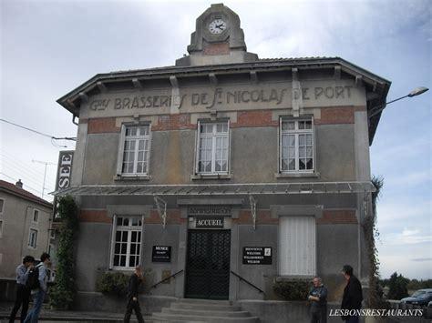 restaurant nicolas de port nicolas de port 54 le mus 233 e de la brasserie premi 232 re partie les bons restaurants