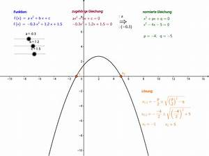 Nullstellen Einer Parabel Berechnen : gleichungen geogebrabook ~ Themetempest.com Abrechnung