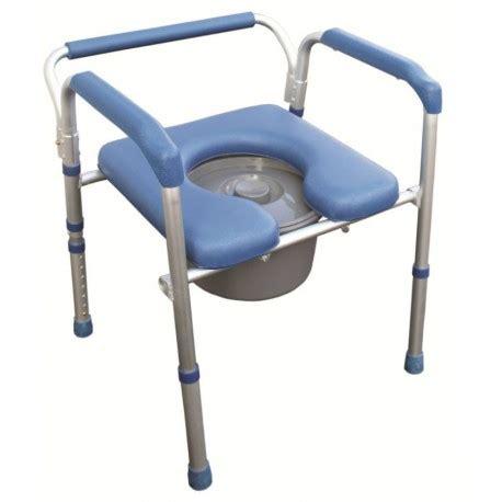 chaise percée pliante chaise hygiénique 4 en 1 en aluminium anti corrosion