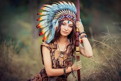 Native American Wallpapers Woman Hair Headdress Indian