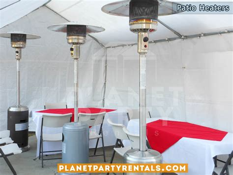 patio heater rentals with gas propane tank prices