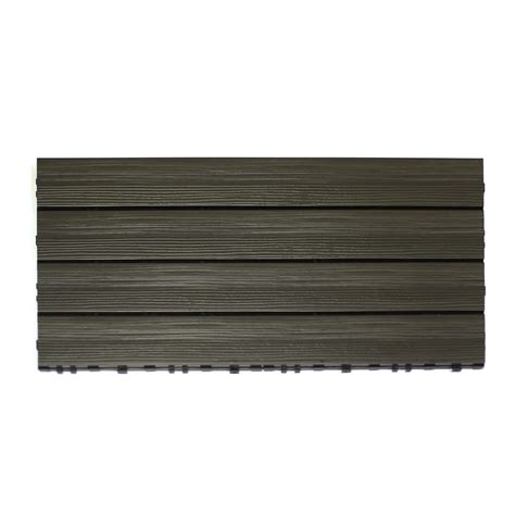 Kontiki Interlocking Deck Tiles Hardwood Series by Kontiki Interlocking Deck Tiles Composite Quickdeck