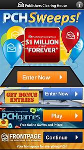 PCH Sweeps - Android Apps on Google Play