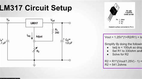 configure  lm voltage regulator youtube