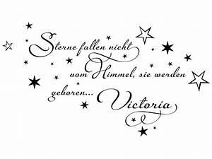 Sterne Vom Himmel : wandtattoos baby sterne fallen nicht vom himmel wandtattoo ~ Lizthompson.info Haus und Dekorationen