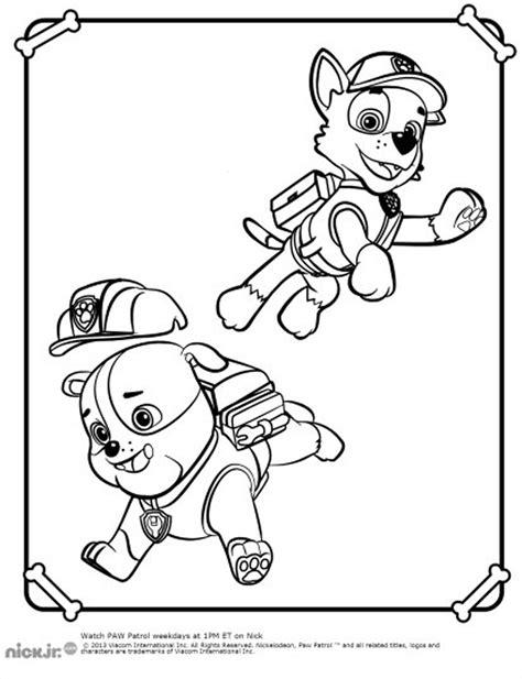 pat patrouille 18 dessins anim 233 s coloriages 224 imprimer