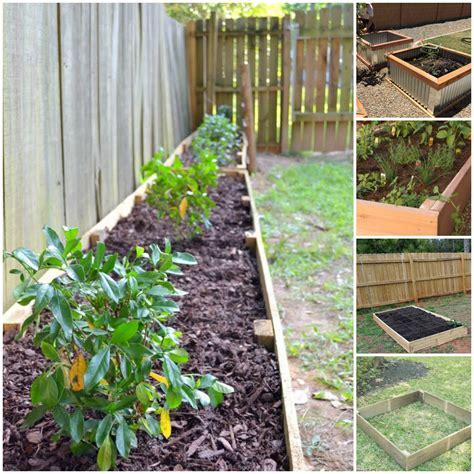 garden beds ideas frugal gardening four inexpensive