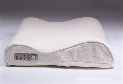 anti snoring pillow smart sensor anti snore pillow sharper image