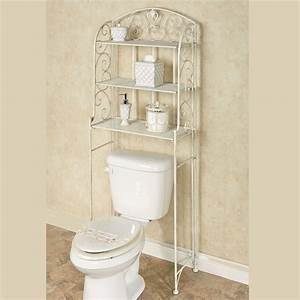 Aldabella creamy gold bathroom space saver for Space savers for bathroom