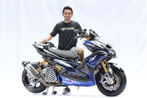 Aerox Modification by Ini Dia Modifikasi Terbaik Dan King Of Maxi Yamaha
