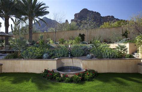 elegant desert landscaping convention phoenix southwestern