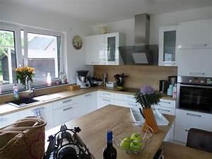 Küche In L Form : moderne k che in l form mit insel theisk chen ~ Bigdaddyawards.com Haus und Dekorationen