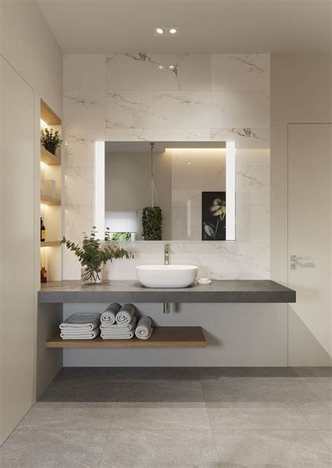 There's above are a type of bed 'float'. So simple, so lux | Popular bathroom designs, Bathroom ...