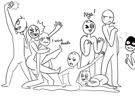 Draw The Squad Memes - i made my own draw the squad meme you re welcome dibujos