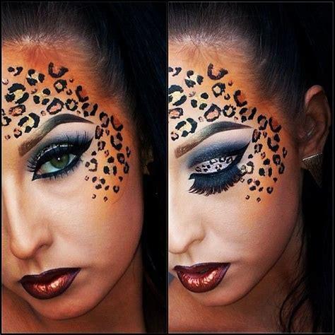 leopard make up leopard print makeup search makeup ideas