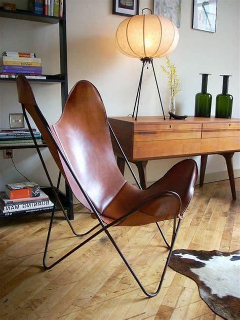 canapé cuir beige le fauteuil papillon en 62 photos magnifiques