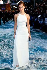 Emma Watson White Dress