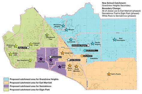 surrey school district maps potential catchment areas north delta