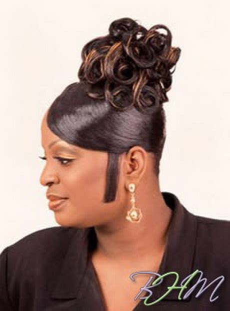Easy Updo Hairstyles For Black Hair by Updo Hairstyles For Black