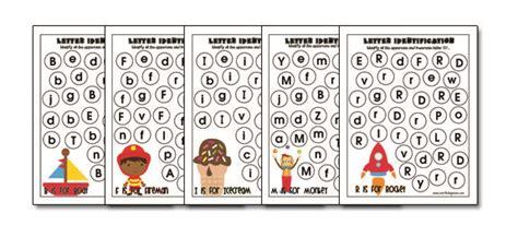 Full Alphabet Letter Identification Printables