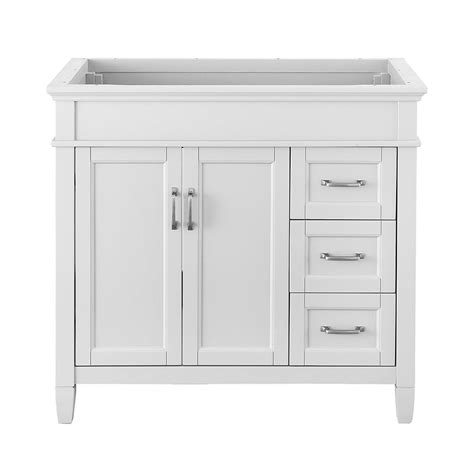 home depot white cabinets foremost ashburn 36 in w x 21 75 in d vanity cabinet in