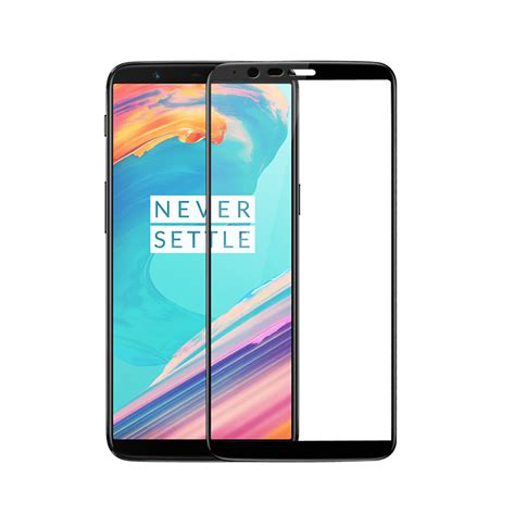 official 3d tempered glass screen protector for oneplus 5t