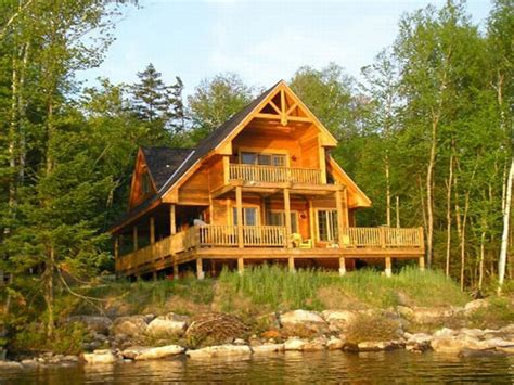 elevated house plans waterfront waterfront homes house plans lakefront cabin plans treesranchcom