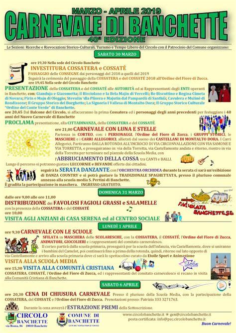 comune di banchette carnevale di banchette 2019 anfiteatro morenico ivrea