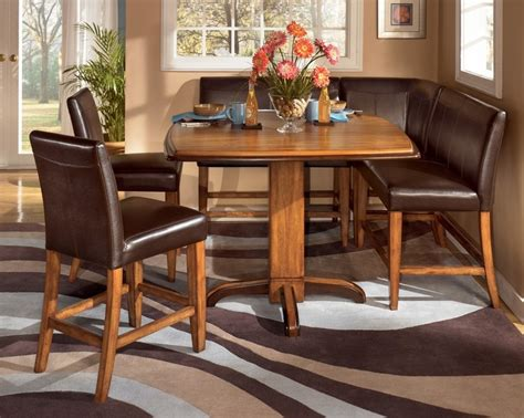 urbandale booth style kitchen table dining room