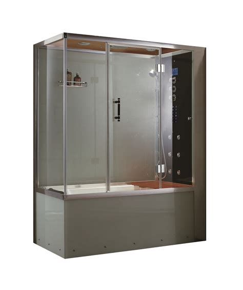 Whirlpool Bathtub Shower Combo by 65 Quot Eagle Bath Ws 110 Steam Shower Enclosures Whirlpool