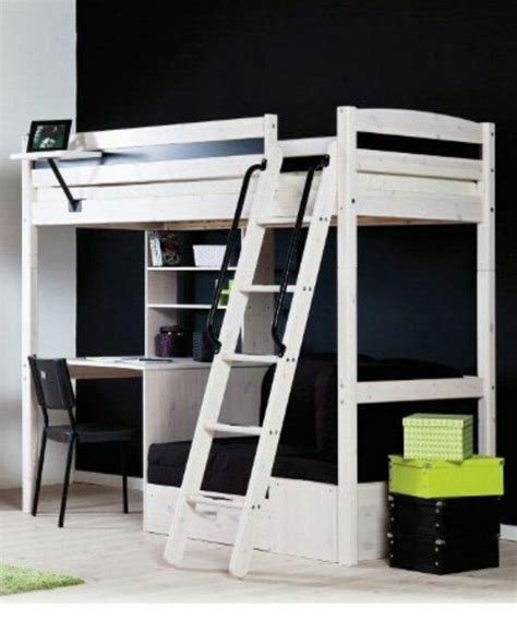 Loft Bed With Desk Ikea by White Stora Loft Bed From Ikea Loft Bed Ideas