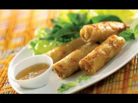 cuisine vietnamienne facile cuisine vietnamienne recette nems crabe et crevettes