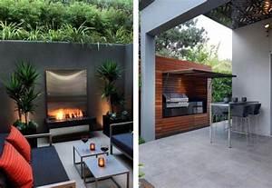 amenager son jardin et terrasse 52 idees pour votre With fontaine exterieure de jardin moderne 5 cuisine d ete exterieure design