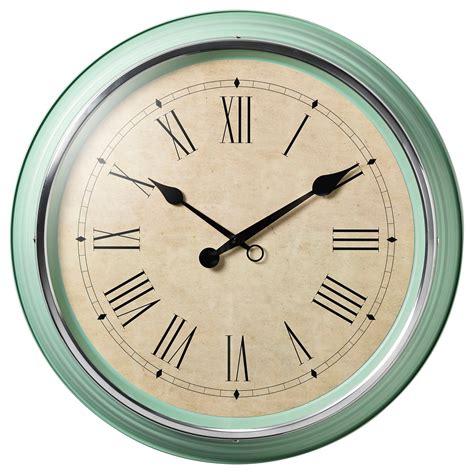 horloge cuisine vintage skovel wall clock green 59 cm ikea
