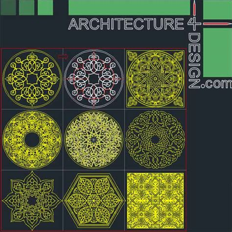 77 flooring design patterns for autocad dwg file architecture for design