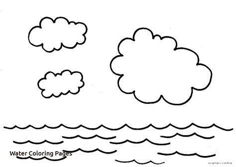 sky land water coloring pages print coloring