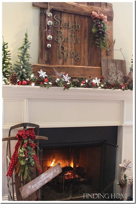 christmas mantel ideas finding home farms