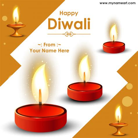 write   diwali english wishes floral background