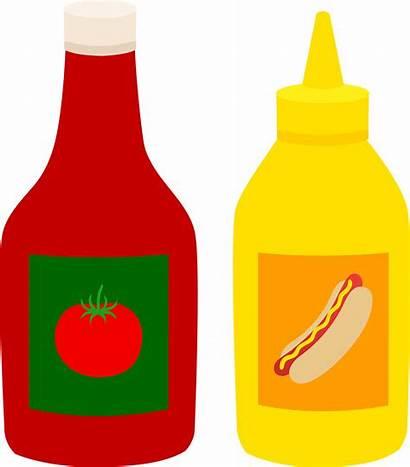 Ketchup Mustard Bottles Clip Sweetclipart