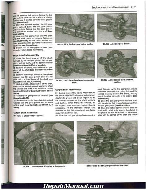 honda 2006 2013 nt700v deauville 2008 2013 xl700 transalp motorcycle repair ebay