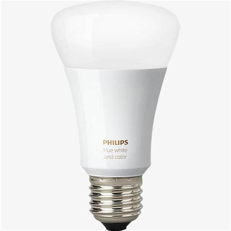philips hue white color ambiance a19 single bulb 3